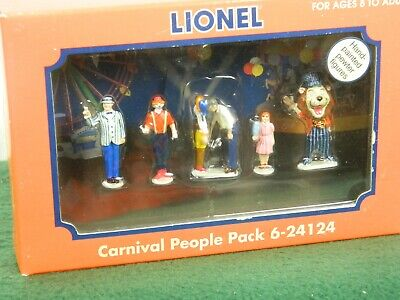 $29.99 • Buy Lionel O Scale #6-24124 Carnival People Metal People Pack Painted For Trains Nib