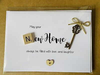 Handmade New Home Card • 3£