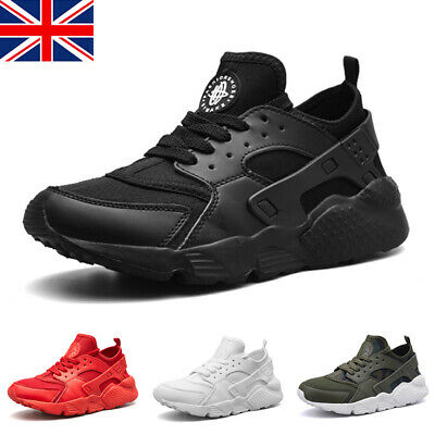 Mens Womens Running Sports Shoes Trainers Fitness Gym Casual Lace Up Sneakers UK • 11.99£