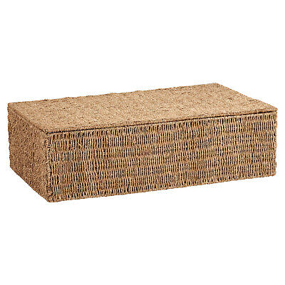 Hartleys Wicker Seagrass Under Bed Storage Box Bedding/blanket Chest/trunk • 27.99£