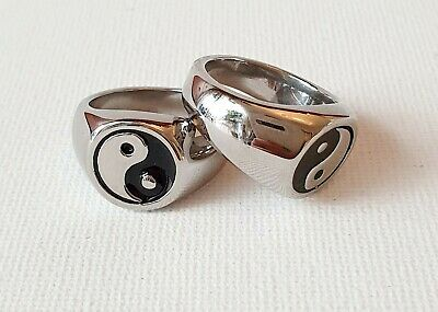 Silver Yin Ying Yang Ring 90s N Medium Other Bloggers Stories  • 9.99£