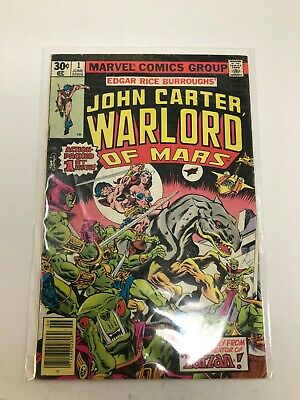 $4 • Buy John Carter Warlord Of Mars #1 Marvel Comics June 1977