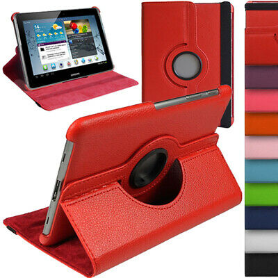 £5.99 • Buy Leather 360 Rotate Case Stand Cover For Samsung Galaxy Tab 2 10.1 P5100