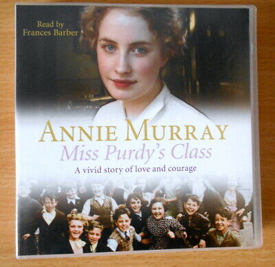 Annie Murray- Miss Purdy's Class  3 Cd Audio Book - Read By Frances Barber • 10.99£