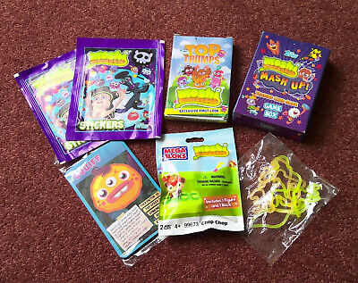 £5.50 • Buy Moshi Monsters Bundle (Top Trumps Trading Cards Stickers Mega Bloks Rubber Bands