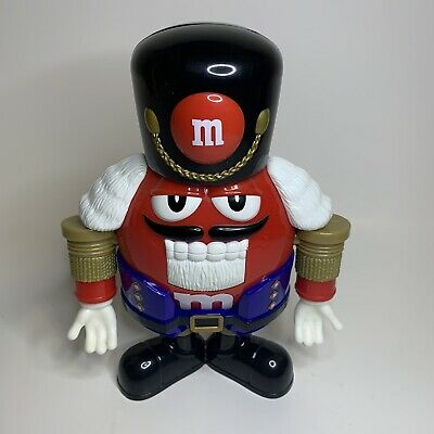 """£9.22 • Buy M&M's Nutcracker Limited Edition Sweet Red Chocolate Candy Dispenser 9.5"""""""