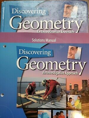 $16 • Buy Discovering Geometry :An Investigative Approach By Michael Serra/ Solutions Book