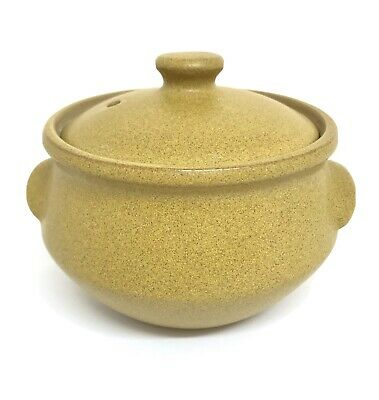 £5 • Buy Vintage Denby Small Casserole Dish ( 1/2 Pt ) With Lid