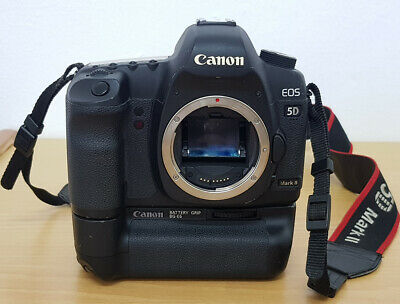 $ CDN1074 • Buy Canon EOS 5D Mark II 21.1 MP Digital SLR Camera - Black With Grip And Charger