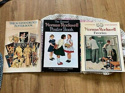 $ CDN32.96 • Buy J. C. Leyendecker Poster Book & 2 Norman Rockwell Posterbooks