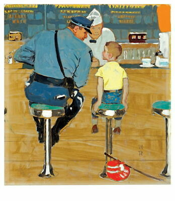 $ CDN25.49 • Buy Norman Rockwell The Runaway Giclee Canvas Print Paintings Poster Reproduction Co