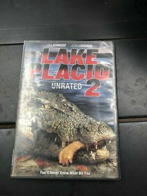 Lake Placid (DVD, 2000) Lake Placid (DVD,2008 Unrated) LOT OF 2 FREE SHIPPING** • 11.44£