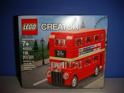 $ CDN20 • Buy LEGO 40220 Creator Mini Double Decker London Bus NIB