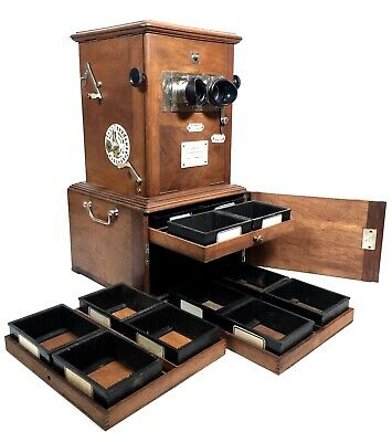 Antique French Wooden Le Taxiphote / Stereo Viewer / Stereoscope Slide / Photo  • 999£