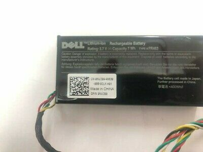 $ CDN26.85 • Buy DELL - 0NU209 -Battery Pack Storage Controller - 5/i 6/i H700 -LOT OF 2 UNITS
