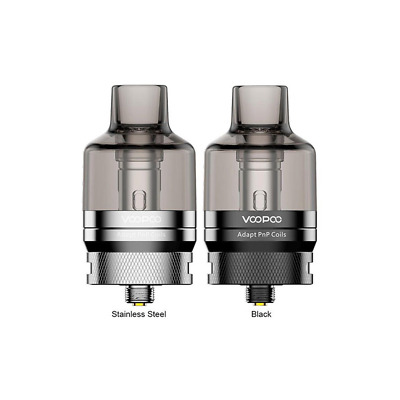VOOPOO PnP Drag X / Drag S Replacement XL Pod Tank | 2 Coils Included 0.15Ω 0.3Ω • 14.99£
