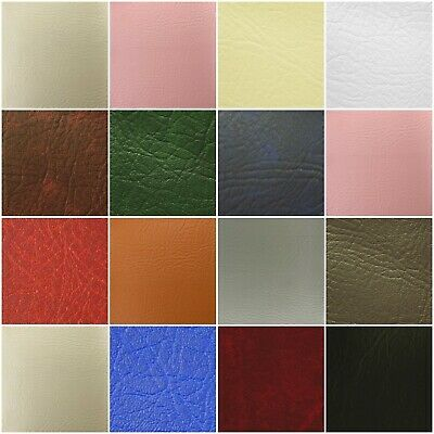 £1.29 • Buy Leatherette Vinyl Upholstery Fabric Fire Retardant FR Faux Leather 140cm Wide