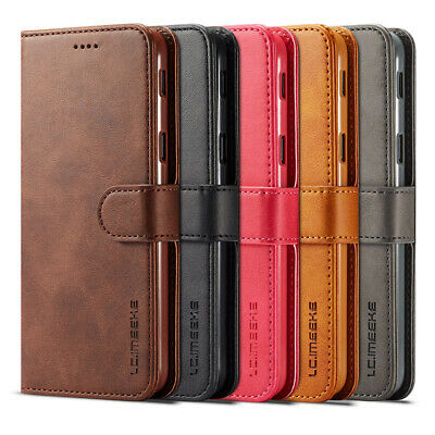AU5 • Buy LC.IMEEKE For Samsung Galaxy J6 J4 Plus 2018 Magnetic Leather Wallet Case Cover