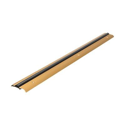 £13.30 • Buy Compression Threshold Weather Door Sill Rubber Draught Excluder Seal- Gold