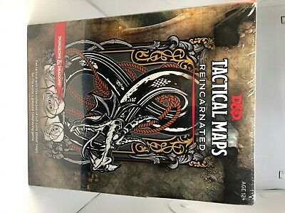 AU33 • Buy TACTICAL MAPS REINCARNATED Dungeons & Dragons 5E NEW