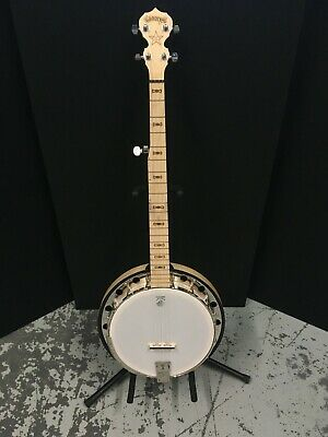 $ CDN1189 • Buy Deering Goodtime Two 5-string Banjo With 7910 Spikes Deluxe Gig Bag And Package
