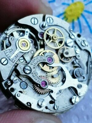 $ CDN375.35 • Buy Vintage Lemania Chronograph Movement. Cal 1277? 1270? Only For Parts/restore