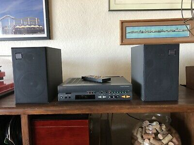 $175 • Buy Vintage Nakamichi Compact Receiver 1 One With Speakers And Remote Audiophile
