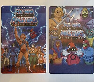 $24.95 • Buy Heeman And The Masters Of The Universe Metal Tin Sign Poster Action Figures