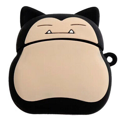 $ CDN6.35 • Buy Snorlax Silicone Wireless Bluetooth Earphone Case Cover For Apple Airpods