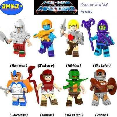 $34.99 • Buy He-Man Masters Of The Universe Custom Minifigures Brick Compatible W/ Lego USA