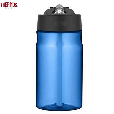 Thermos Intak Hydration Bottle With Straw Blue 355Ml Outdoor Travel Drink New • 10.49£