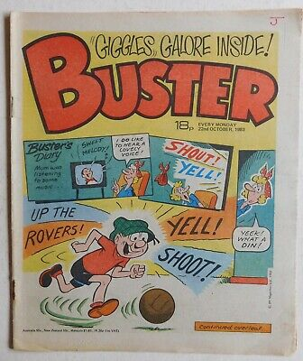 BUSTER COMIC - 22nd October 1983 • 2.99£