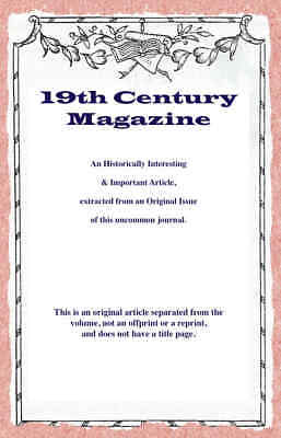 Mr. G.F.Watts: His Art And His Mission. A Rare Original Article From The Ninetee • 14.99£