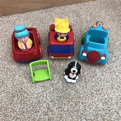 Fisher Price Little People Toy Figure Dog Fire Engine Car Children Play Bundle • 0.99£