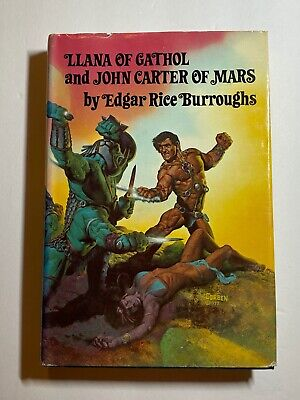 $19.99 • Buy 1977 Edgar Rice Burroughs Llana Of Cathol & John Carter Of Mars Book Club Edt.