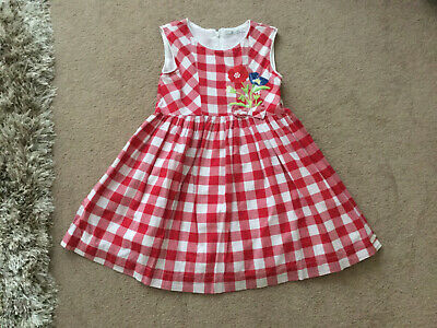 Moyoral Dress Age 7 Yrs Red Check • 6£