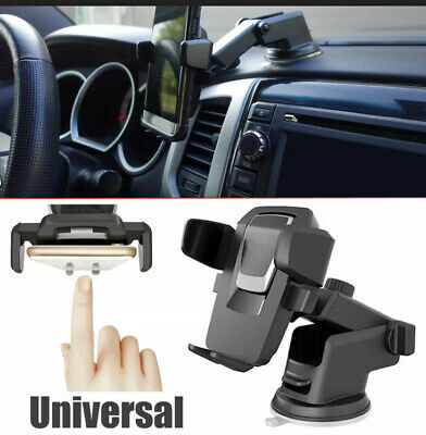 $8.59 • Buy Car Phone Holder Mount 360° Dash Suction GPS Stand For IPhone/Galaxy Accessories