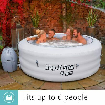 LAY Z SPA VEGAS HOT TUB 4-6 Person=Knock £50 If You Collect= FREE MAINLANDUKPOST • 800£