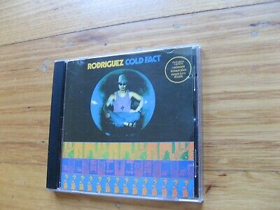 RODRIGUEZ - Cold Fact CD - 1991 SOUTH AFRICA PRESS - SEARCHING FOR SUGAR MAN • 22.06£