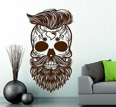 Hipster Candy Sugar Skull Wall Art Stickers Decals Vinyl Mexican Day Of The Dead • 13.98£