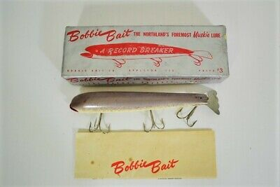 $ CDN43.34 • Buy Vintage BOBBIE BAIT Muskie Lure In Box