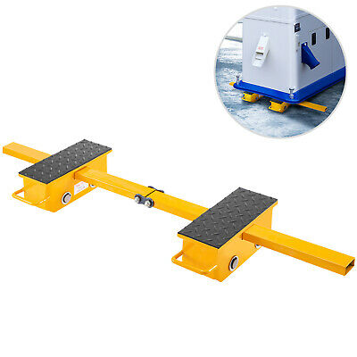 $109.99 • Buy VEVOR Machine Dolly Skate Machinery Roller Mover Cargo Trolley 2.5T 2 Roller