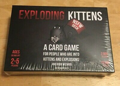 AU19.49 • Buy Exploding Kittens Card Game **BRAND NEW & SEALED** NSFW Edition