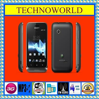 £52.42 • Buy UNLOCKED SONY XPERIA Tipo ST21a2◉3G◉WIFI HOTSPOT◉512MB/2.9GB◉ANDROID◉BLUETOOTH