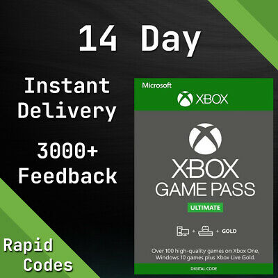 $ CDN2.70 • Buy XBOX LIVE 14 Day GOLD & Game Pass Ultimate Code INSTANT DISPATCH Xbox One / 360