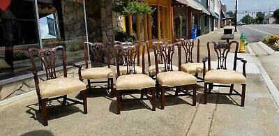 $1760 • Buy  Set Of Eight Dining Room Chairs Crafted In Mount Airy N.C.20thc