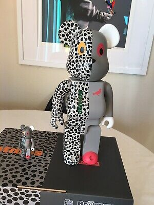 $300 • Buy Bearbrick Staple Atmos 400% 100% Authentic Safari Pigeon Be@rbrick Bearbrick