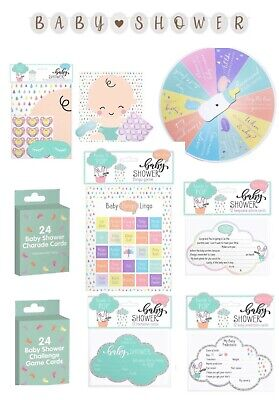 £2.89 • Buy Baby Shower Games, Decorations, Invitations - Party Games - Celebration - Unisex