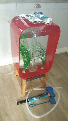 Biorb Life Collection 45L Fish Tank Red • 110£