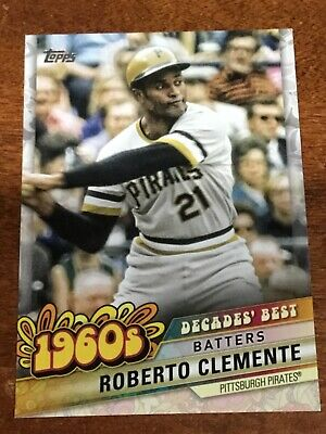 $1.50 • Buy 2020 Topps Series 2 You Pick Decades Best Inserts Aaron Yaz Clemente Bench